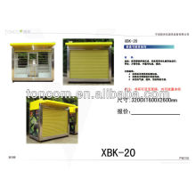 XBK-20 varejo de rua kioks à venda com caixa de luz