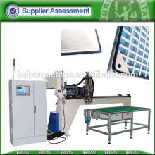 Enclosure sealing strip gluing machine
