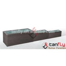 TF-9604 Outdoor Synthetic rattan flower pot/garden flower pot