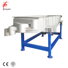 Cement linear vibrating screen sieve machine