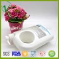 HDPE à la mode blanc OEM coutume en plastique 1 gallon pour emballage shampooing