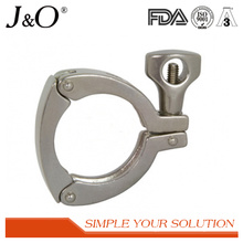 Sanitary Stainless Steel 13mhhs 3PCS Heavy Duty Clamp