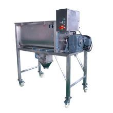Factory supply big capacity double helix blender horizontal ribbon mixer for grain powder