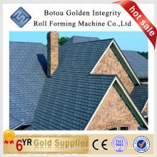 Linha de produção de telhas de aço revestidas de pedra