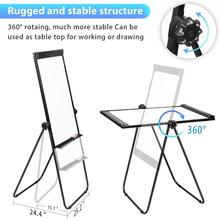 Magnetic Flipchart Double Sided Easel Board For Home