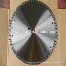 Pastilla de freno de corte de 300 mm Segmente una cuchilla de sierra láser de diamante turb