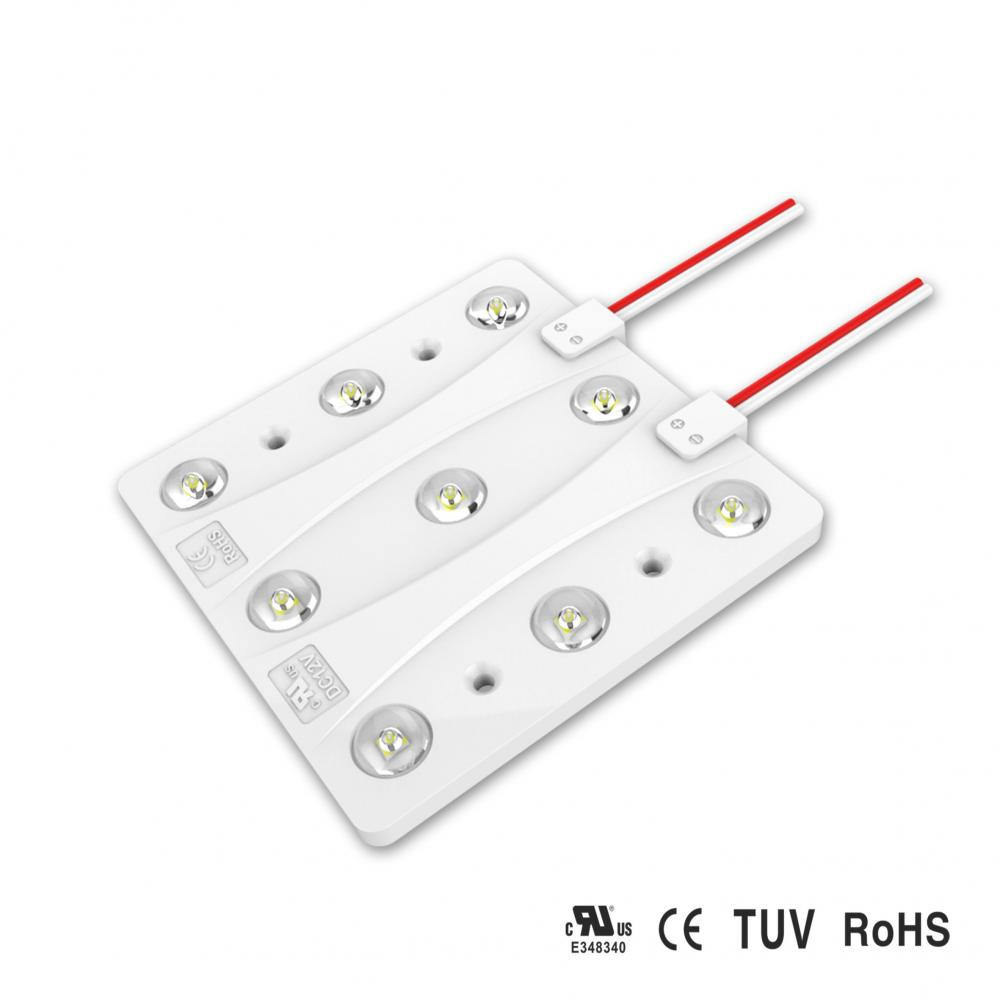 9 LED LED 7W Power Module LED 6pcs / ㎡