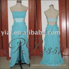 2011 Оптовая Бесплатная доставка высокое качество великолепная короткие органзы стиль бальное вечернее платье PP2351