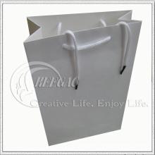 Белый подарок бумажный мешок (кг-PB030)