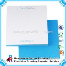 Großhandel billig gedruckt benutzerdefinierte geformte Schreibwaren Notizblöcke