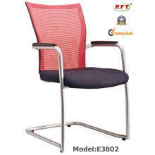 Mesh Office Hotel Metal Meeting Conference Visitor Chair (E802)