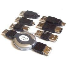 Conjunto adaptador USB