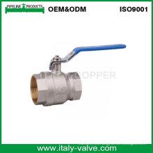 Válvula de bola femenina forjada Seeling caliente (AV1056)