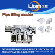 Fabrication professionnelle de moule pour le moule de raccordement de tuyau de pvc de taille standard dans taizhou Chine