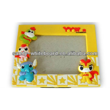 custom cartoon shape magnetic writing board