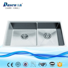 Popular Products In USA Hand Made Pedicure Stainless Steel Kitchen Sinks With Silicone Mat