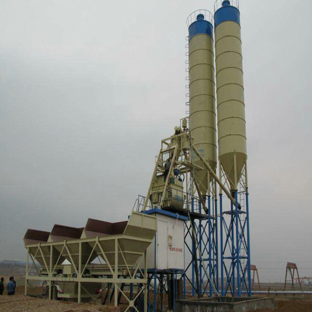 Hzs25 Cement Mixing Plant A