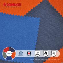 Tissu tricoté ignifuge ignifuge de bas formaldéhyde pour l'habillement