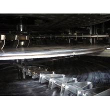 Secador continuo de la placa de la serie PLG 2017, precio del secador de la cama flúida de los SS, secador de vacío de madera vertical