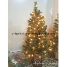 Árvore de Natal Potted 3FT com luz incandescente (Sears)