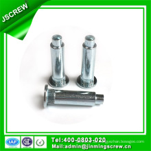 Hardware Facotry Flat Head Steel Remache Sólido