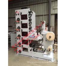 Máquina de impresión flexográfica Roll to Roll Stack