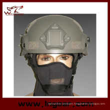 Hot Sale Mich 2002 Helmet with Nvg Mount & Side Rail Safety Helmet