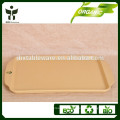 Healthy life style biodegradable toxic free eco-friendly bamboo fiber dishes&plates