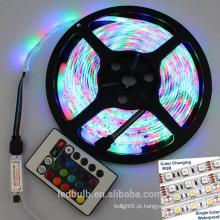 2016 novo design RGB TV 5V LED tira 5050 luz