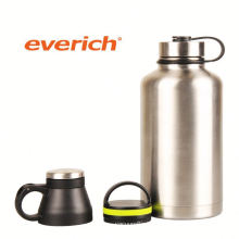 high quality durable stainless steel beer growler for cold beer