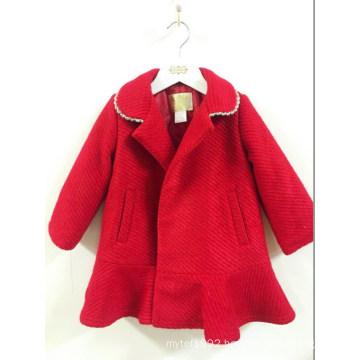 Autumn Children Girl Coat Woolen Sweater