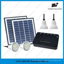 Портативный солнечной дома легкие системы с телефона зарядное устройство