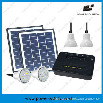 Portátil ligero Sistema Solar con cargador de teléfono