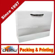 Бумажный мешок белого цвета (2114)