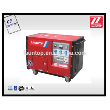 Однофазный бесшумный бензиновый генератор мощностью 4,5 кВт LT6500S