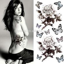 Simulación mariposa estilo personalidad transferencia de agua tattoonon-taxic tempoary tatuajes