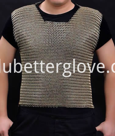 Dubetter chainmail-shirt-sleeveless