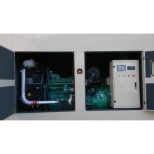 250ква Гуанчжоу водяное охлаждение трехфазный genset Тепловозный Звукоизоляционный генератор с двигателем Volvo