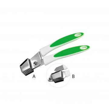 heavy duty stainless steel garlic press