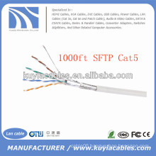 1000FT/305m Cat5e SFTP Ethernet Cable Coiled