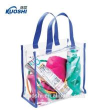 sac transparent imperméable en PVC