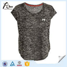 Mulheres Breathable Plain Jersey Blank Running Wear