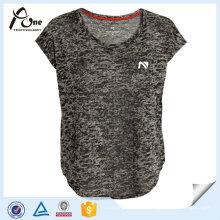 Frauen Breathable Plain Jersey Blank Laufbekleidung