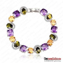 Newest Cubic Zirconia Bracelet for Women Pulseras Mujer (CBR0003-B)