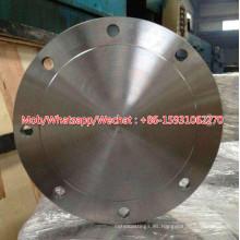 Brida ciega de acero al carbono de alta presión