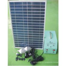 Bom Preço 20W Sistema Solar Portátil