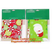 Merry Christmas Santa Claus Pattern Jumbo Bicycle / Bike Sack Gift Bag For Children 60 X 72 inch