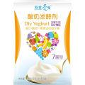 Hechos saludables de la nutrición del yogur sano probiótico
