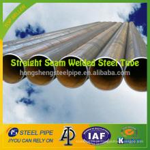 ASTM A53 GR B Tubo de aço soldado com costura reta