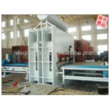 1830 * 2750mm Máquina de la prensa caliente del ciclo corto del mercado de Uzbekistan para la fabricación del tablero del funiture